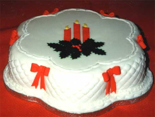 Christmas Cake Icing Decoration Ideas : Miranda Roberts Cakes: Wedding Cakes, Birthday Cakes and ...